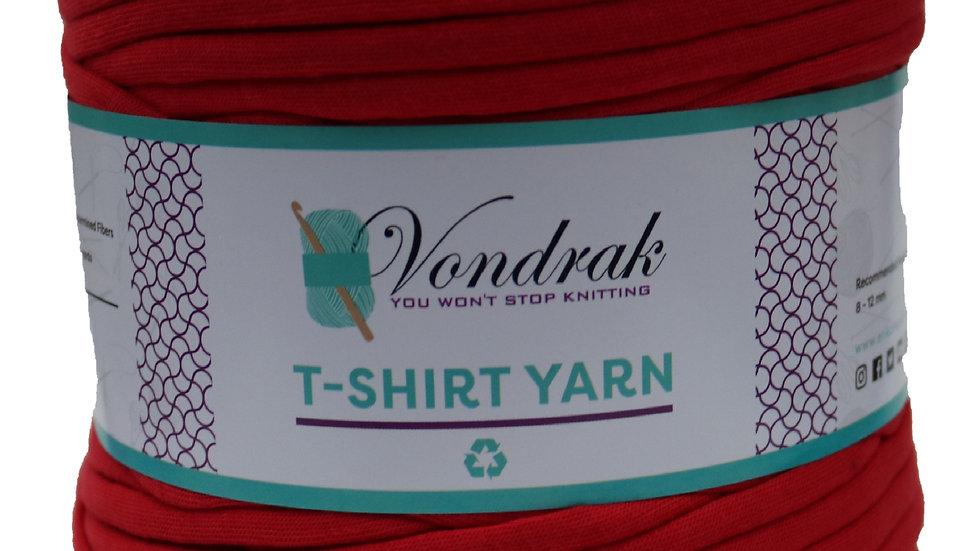 T-Shirt Yarn Red