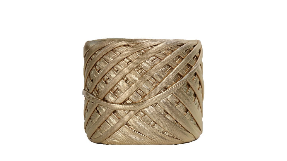 Metallic Yarn 55 yards GOLD