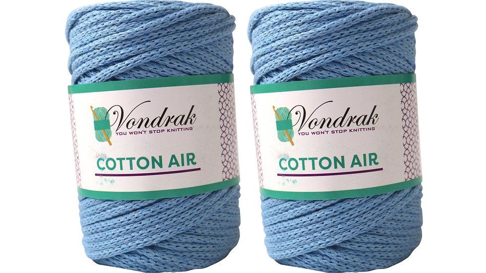 Cotton Air BABY BLUE (2 skeins)