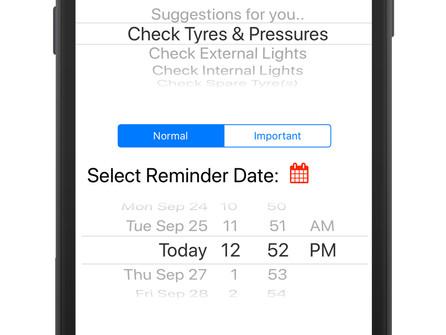 RV Reminder App for iPhone & iPad