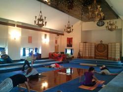 Lotus Yoga Temple classroom