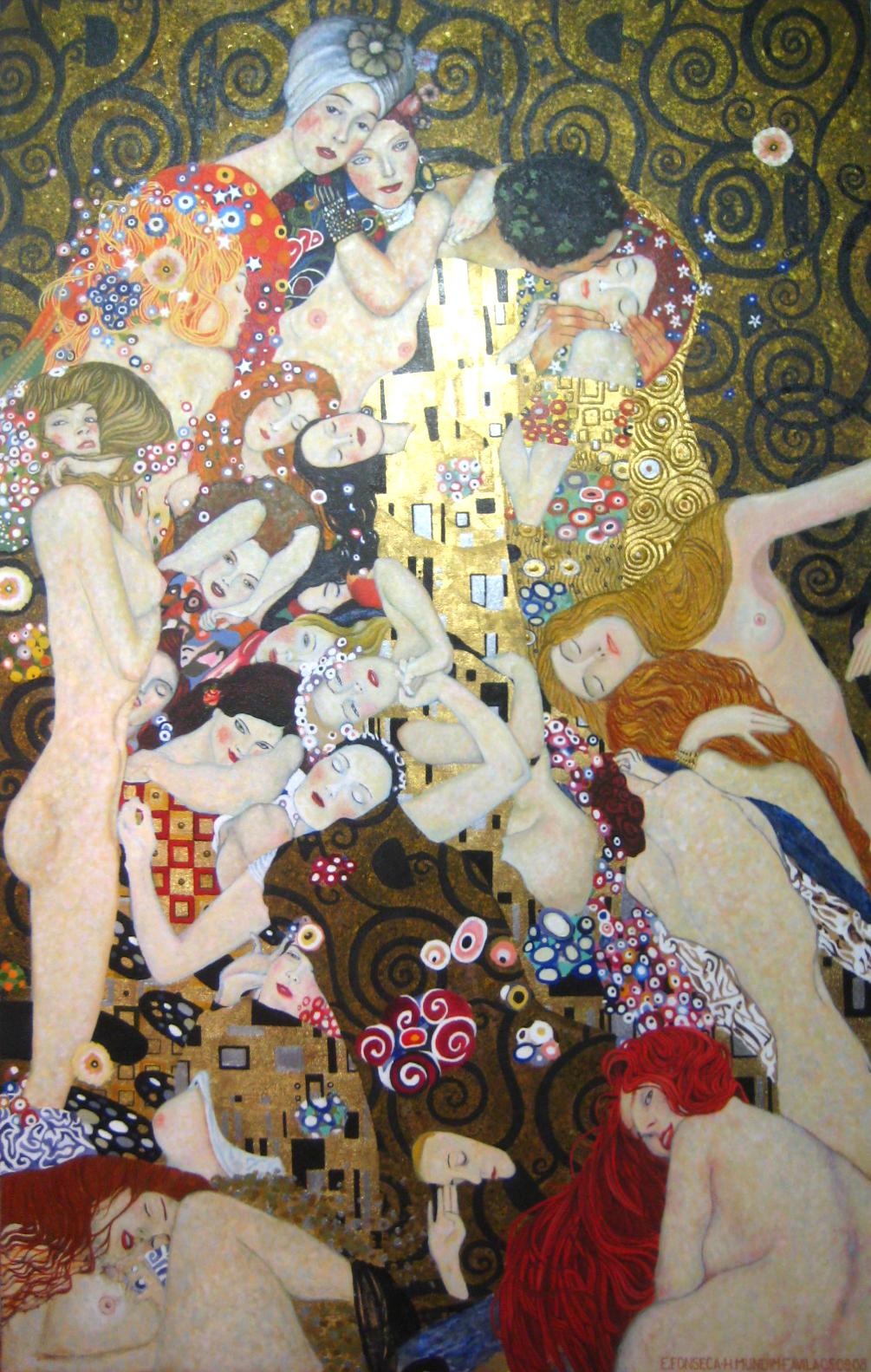 Releitura Klimt
