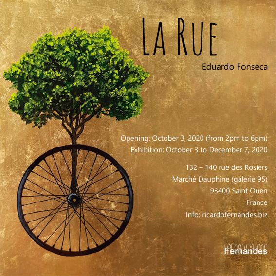 La Rue Ricardo Fernandes Gallery Marché Dauphine Paris - France 2020