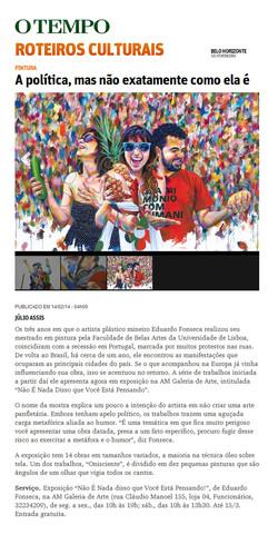 """Jornal """"O Tempo"""""""