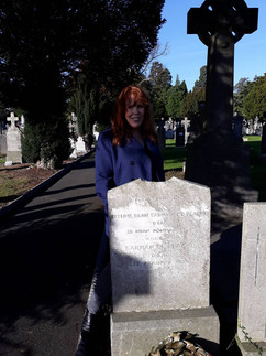 Great-Uncle Ernest Blythe's grave in Glasnevin, Dublin