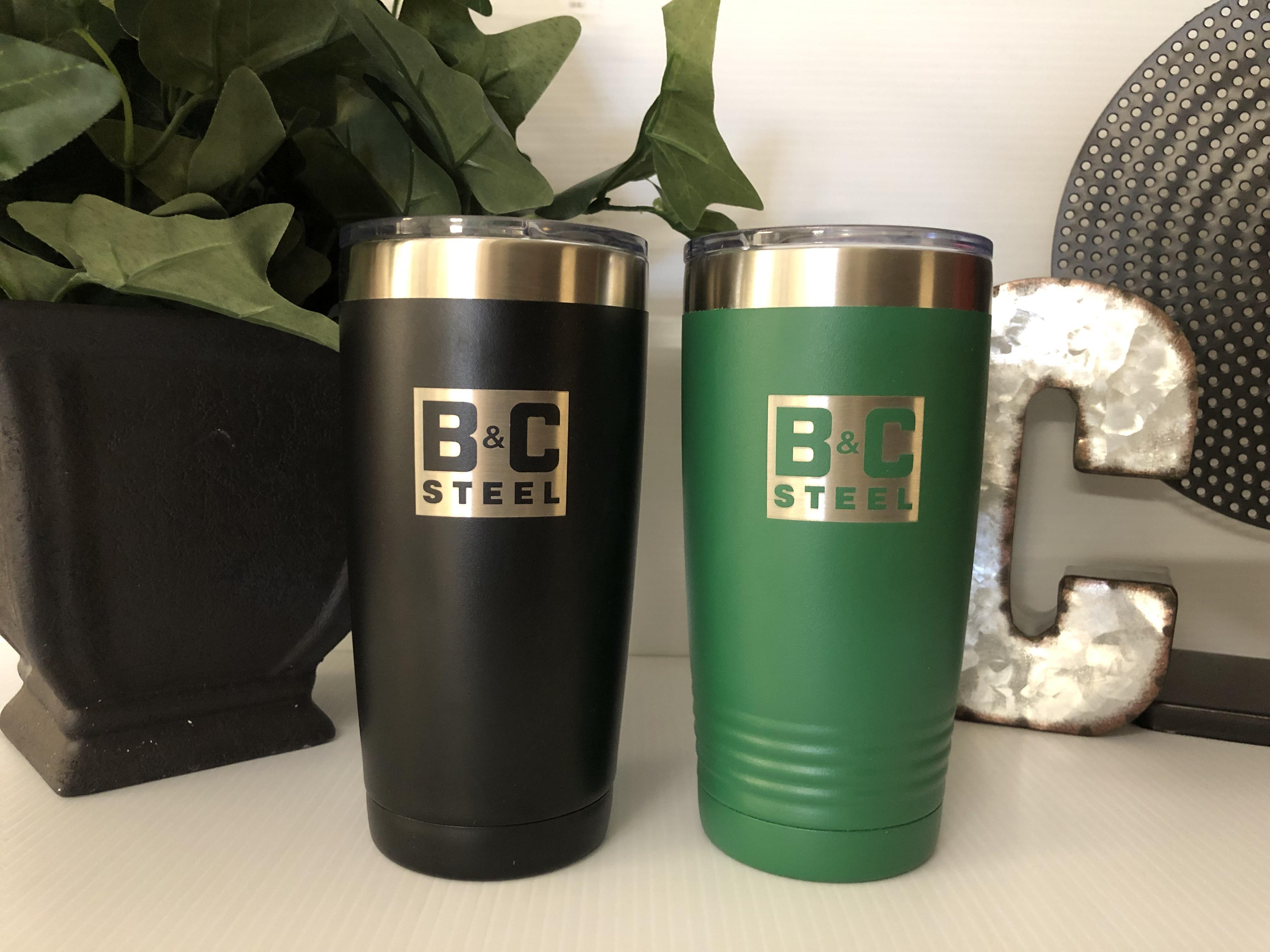 B&C Steel Mugs