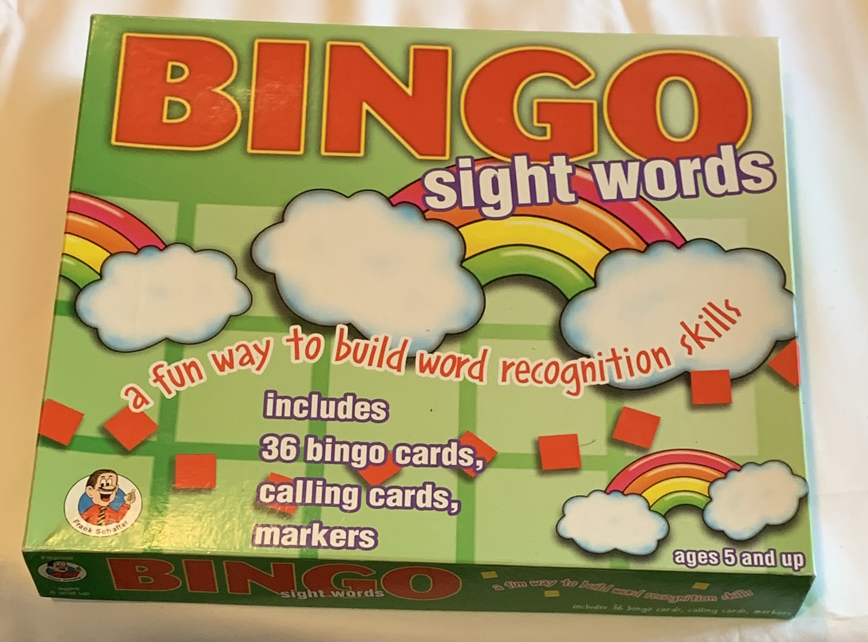 Bingo Sight Words
