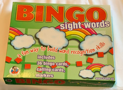 Bingo Sight Words