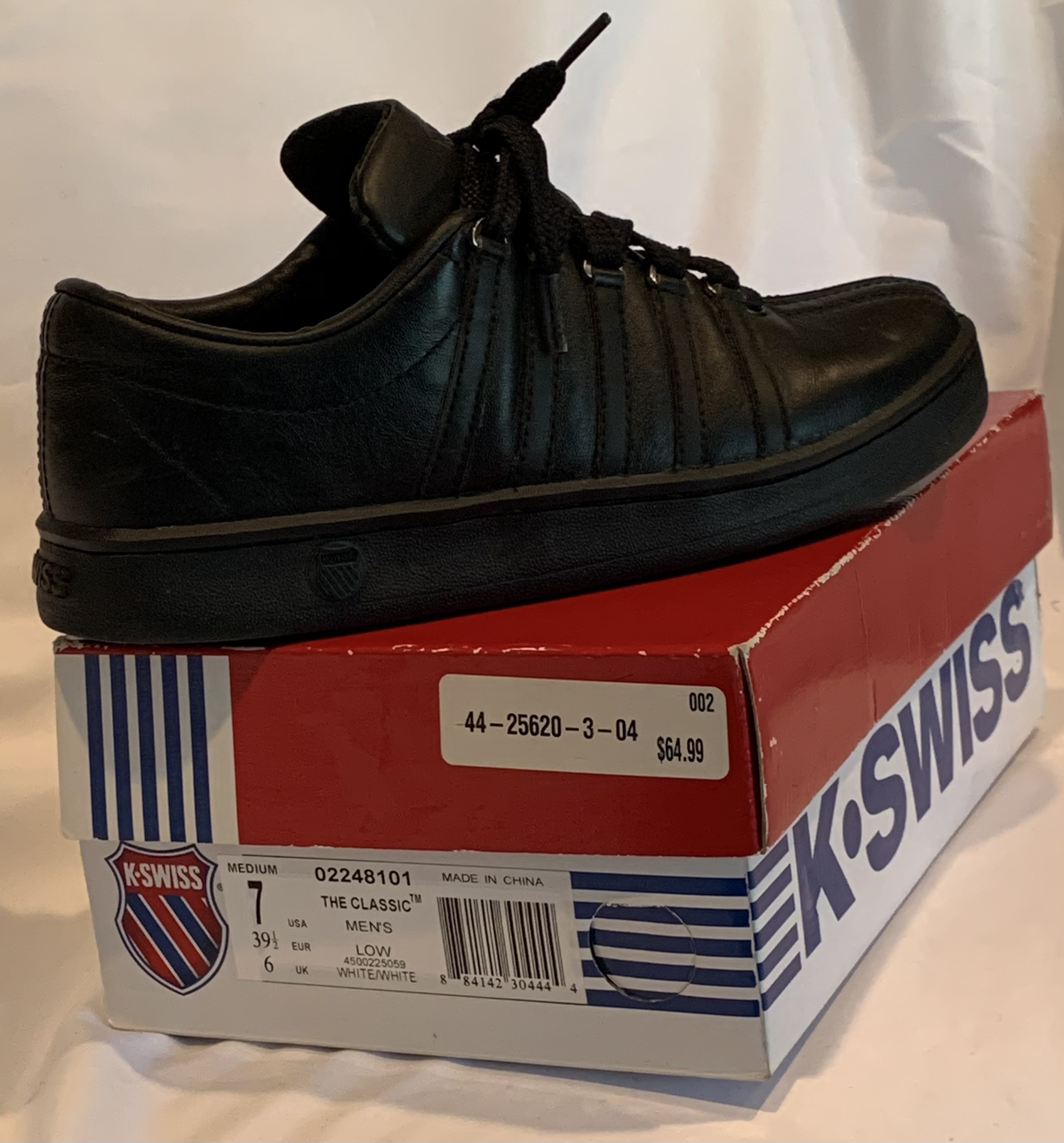 Men's Classic K-Swiss Gym Shoes Size 7