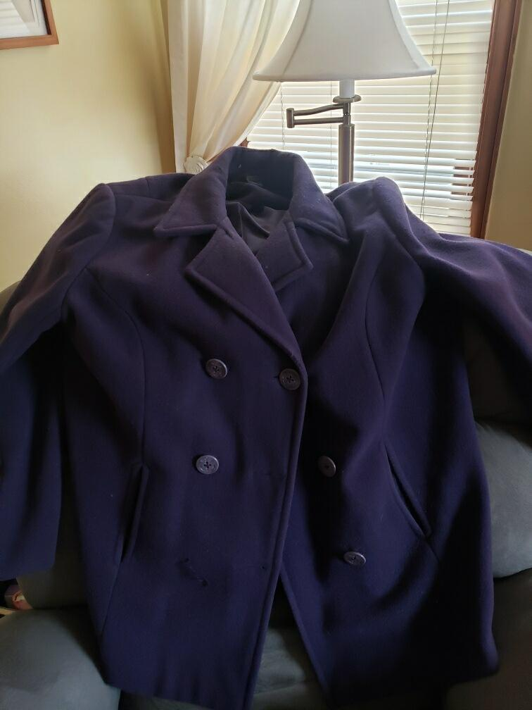 Purple Women's Coat