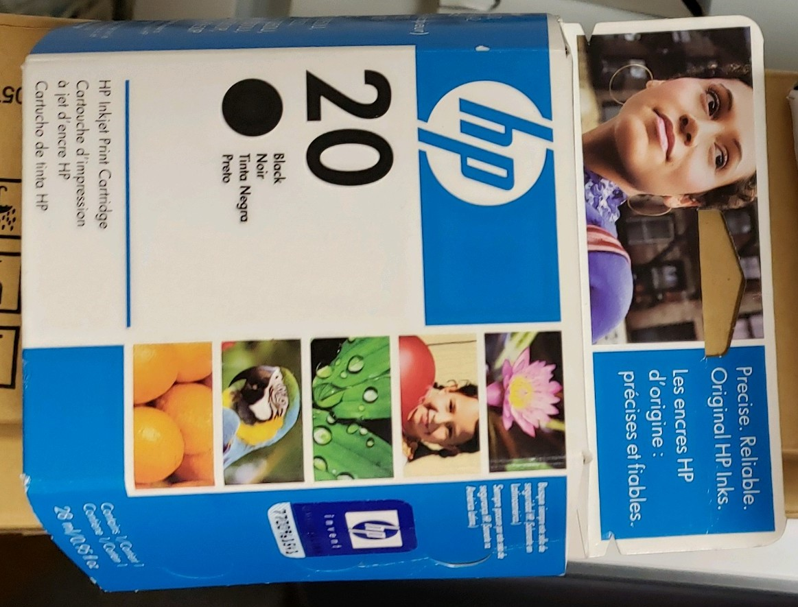 HP 20 Ink - Black