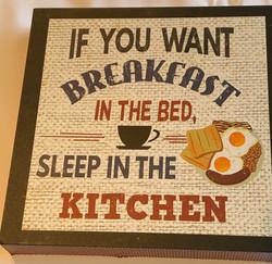 Humorous Kitchen Wall Hanging