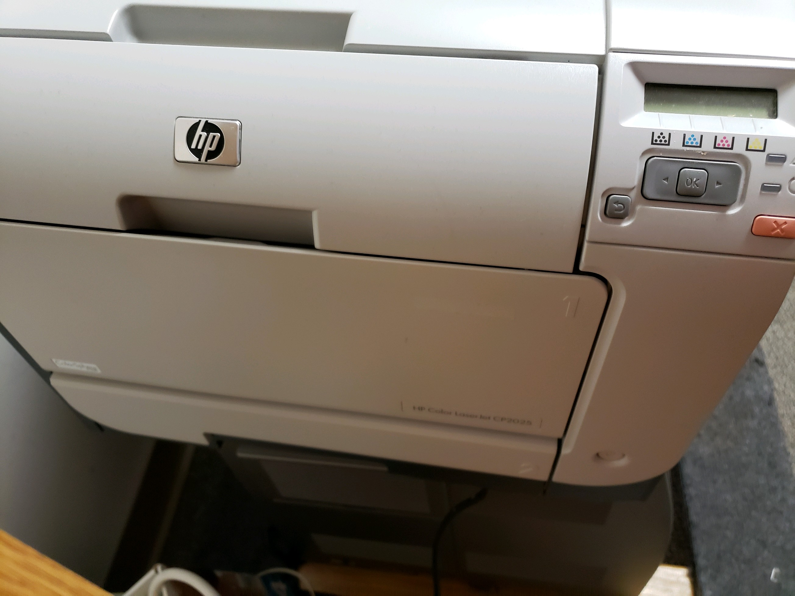 HP Color Laser Jet Printer CP2025