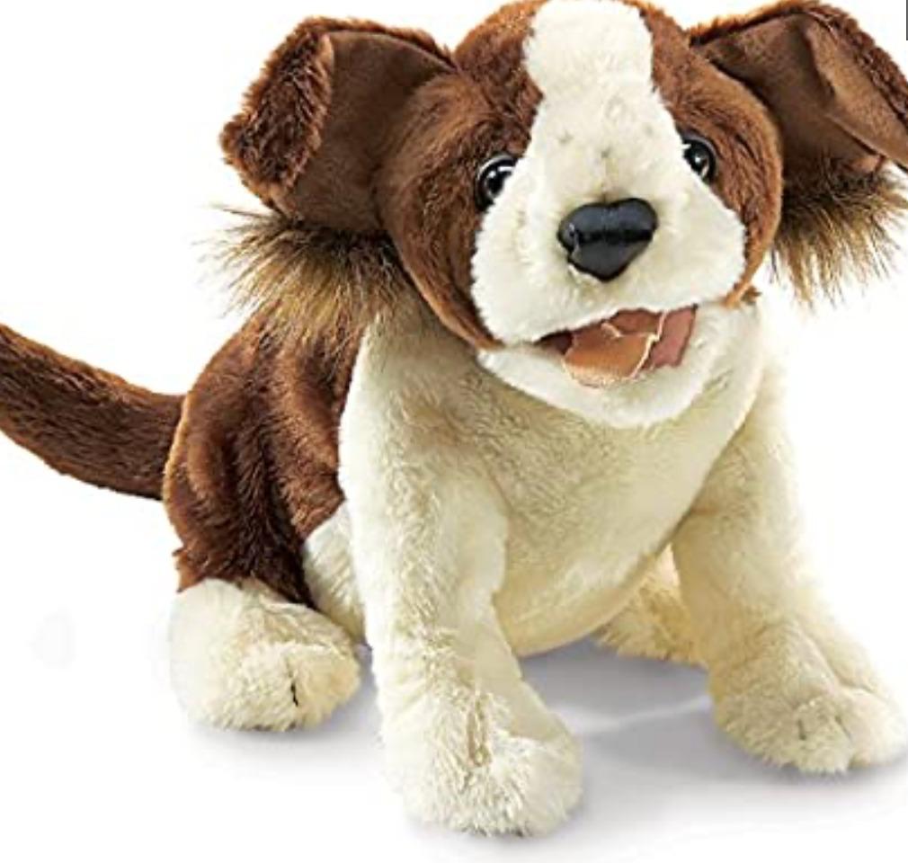Lucky Dog Puppet