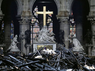 Has Easter Become Our Notre Dame?