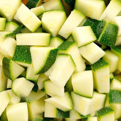 Fresh Prep Courgettes Diced 2.5kg