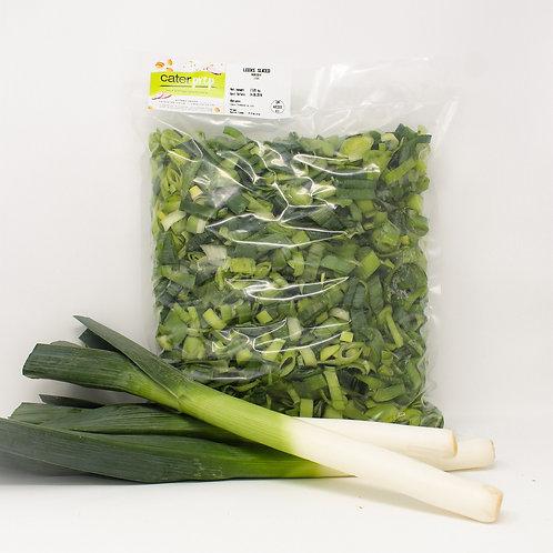 Fresh Prep Leeks Sliced 2.5kg