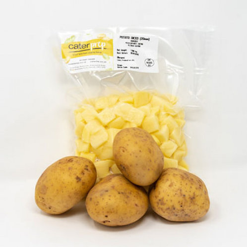 Fresh Prep Potatoes Diced 20mm* (1kg)