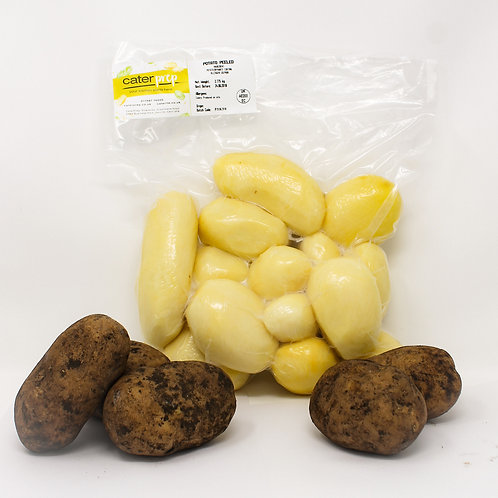 Fresh Prep Potatoes Peeled 1kg