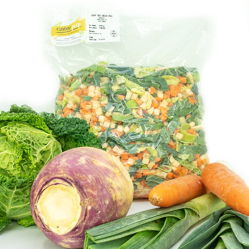 Fresh Prep Soup Mix Dice Medium* (2.5kg)
