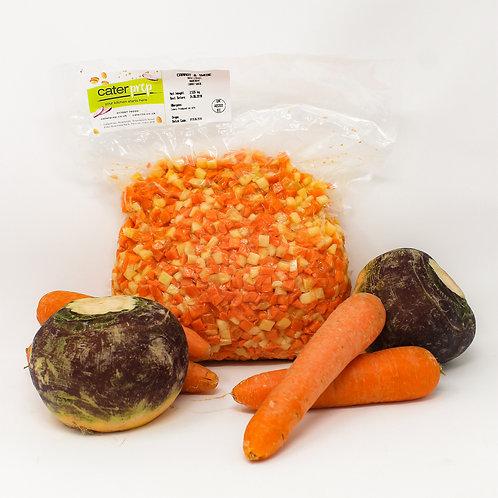 Fresh Prep Carrot & Swede Diced 10mm 1kg