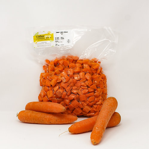 Fresh Prep Carrot Diced 20mm 1kg