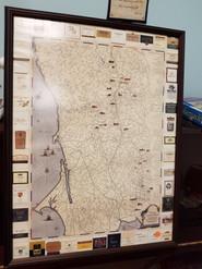 Item #23 - Sonoma Wine Exposition Map