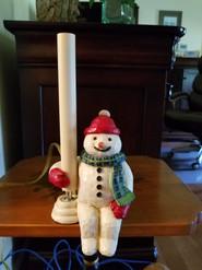 Item #9 -Snowman Light