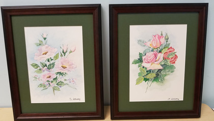 Item # 04 - Shirley Lowry Watercolors