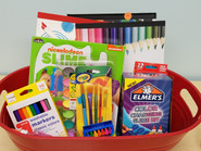 Item #14 - Children's Art Basket