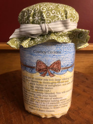 Item #20 - Cowboy Cookie Mix in a Jar