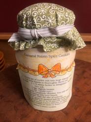 Item #4 - Oatmeal Raisin Cookie Mix in a jar