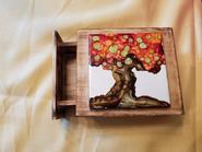Item #21 - Small Tiled Box