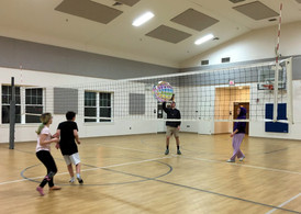 Youth volley ball plus James Harris.EDIT