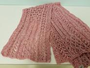 Item #02 - Knit Stole by Dorothy Smith