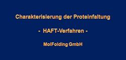 Proteinfaltungcharakterisierung