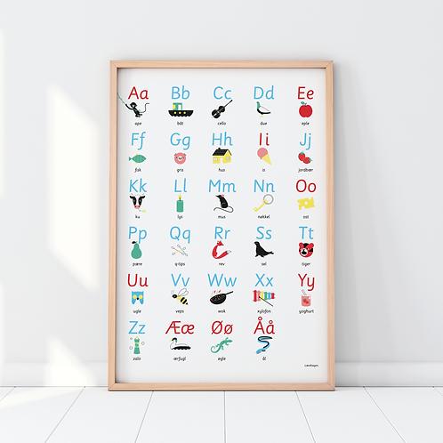Alfabetplakat