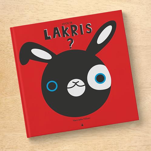 Hvor er Lakris? Lettlest bildebok