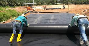 Penggunaan Geomembrane Sebagai Alas Kolam Limbah