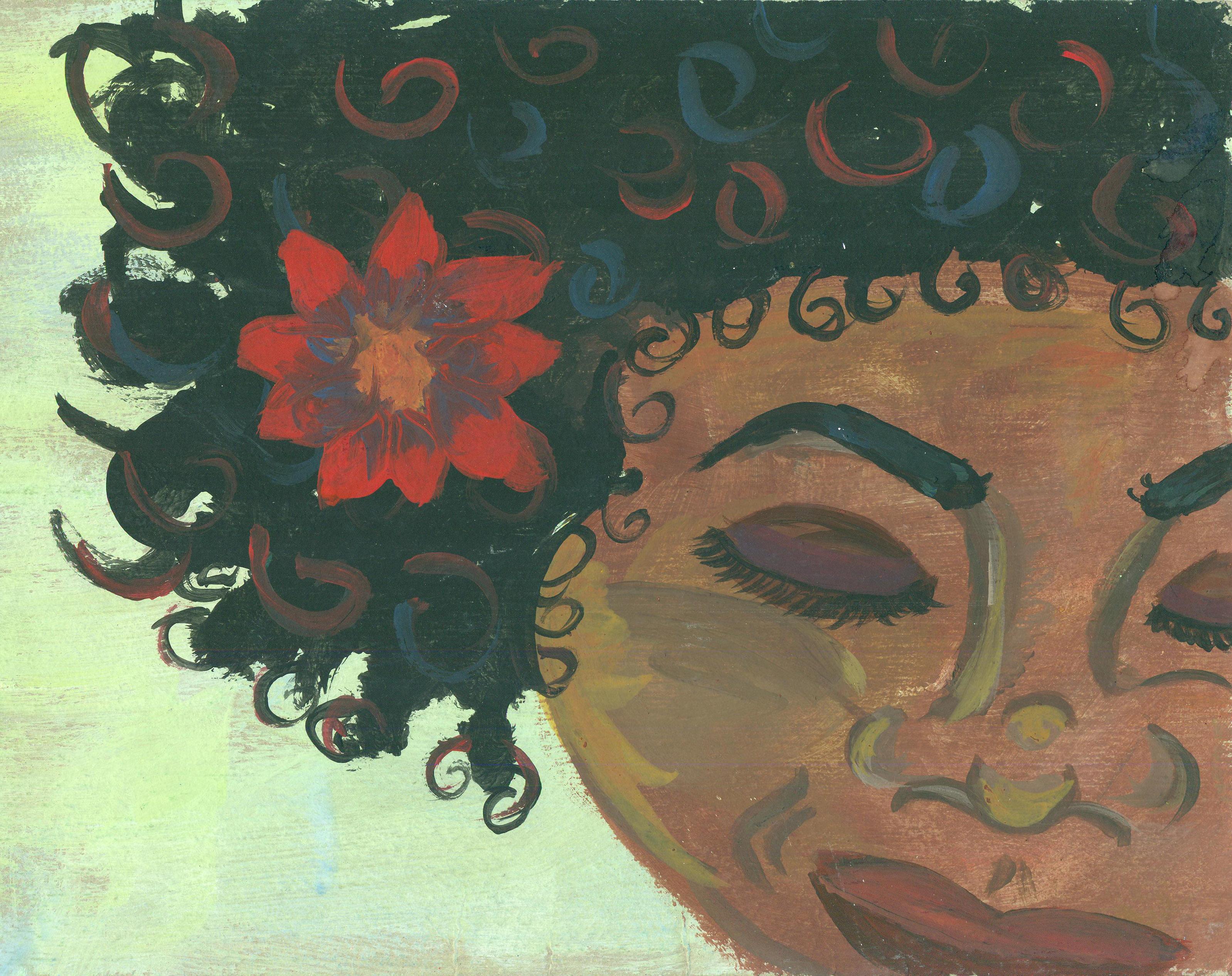 Face Flower