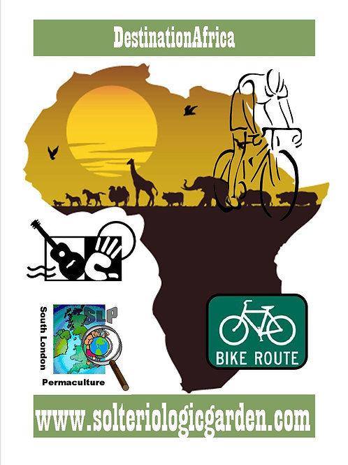 T-shirts Africa Bike Ride (front and back)