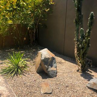 Bamboo Zen garden meets the desert!