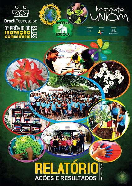 CAPA Relatorio Escolas mais Verdes 2018