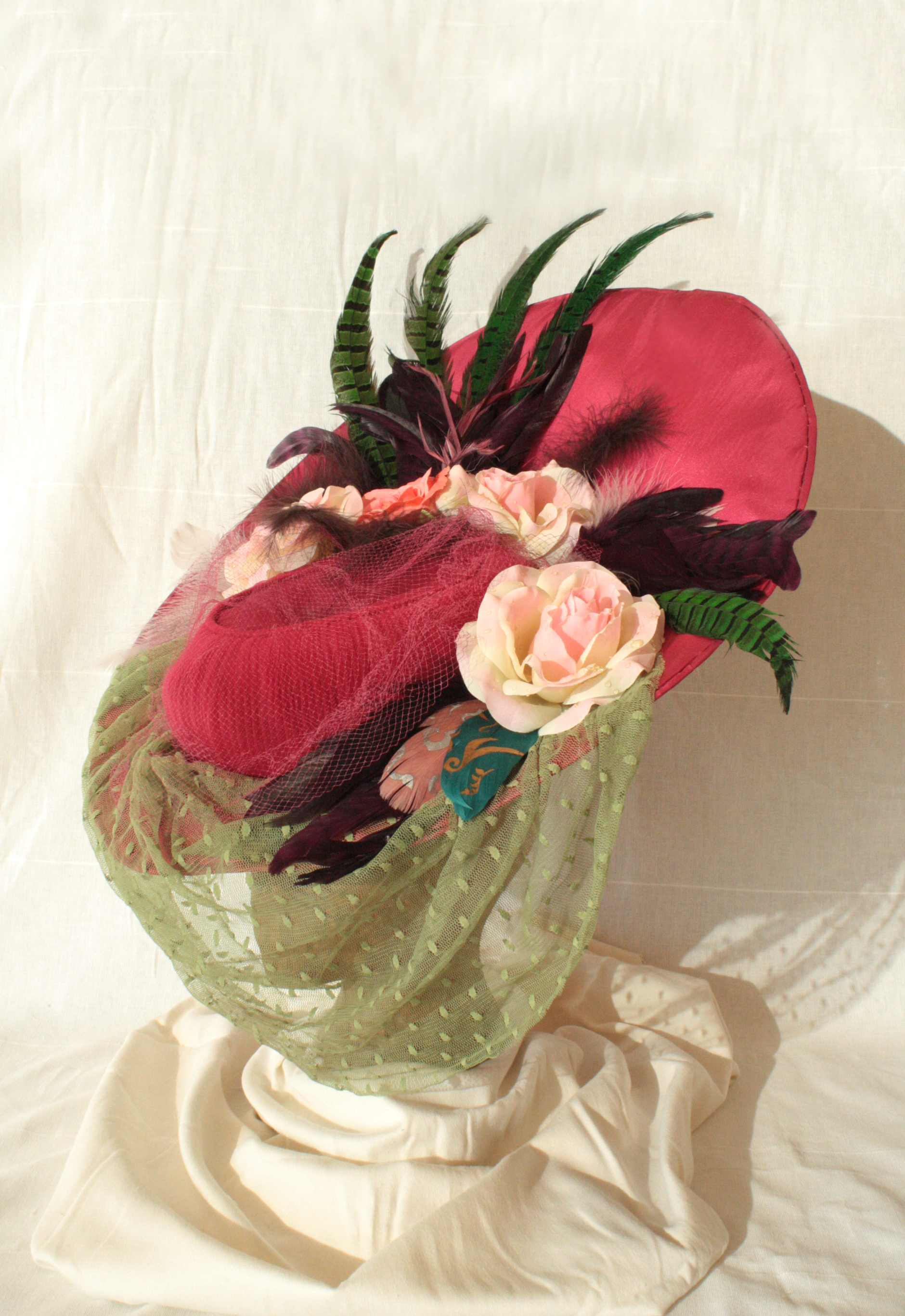 Aurelia's Veiled Hat