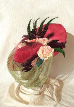 Aurelia's Veiled Hat