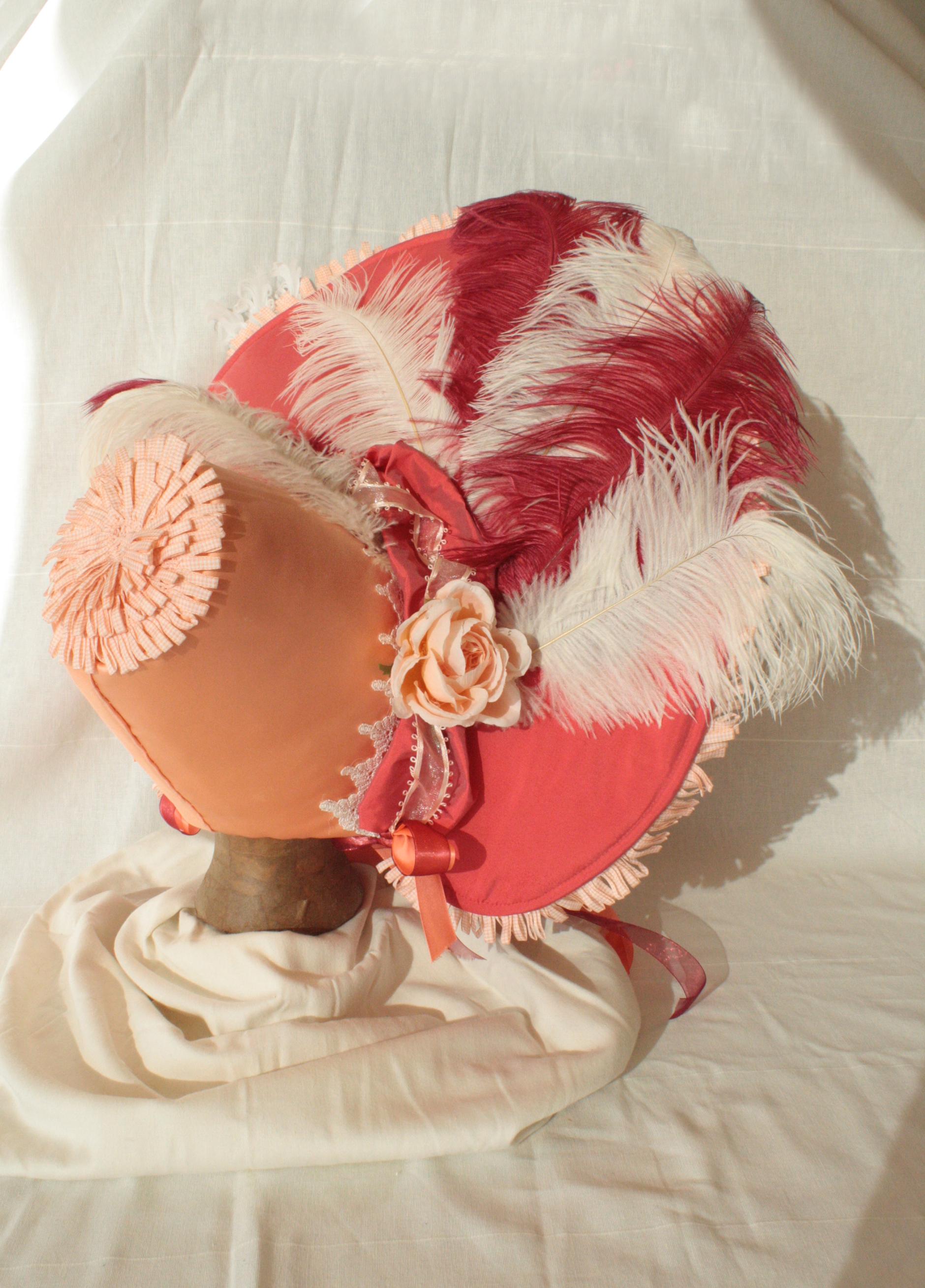 Gabrielle's 1830's Bonnet