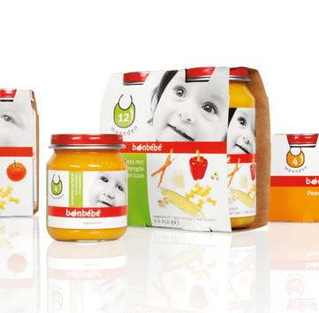 packaging design Bonbébé