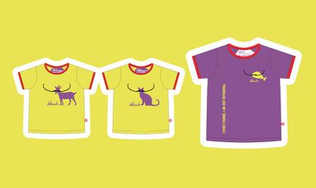 Dalimals T-shirts