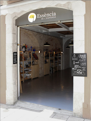 Little shop with authentic products from L'Empordà