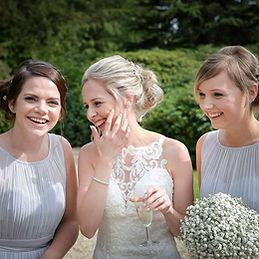 Bridesmaid Hair and make up